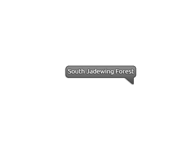 Map of the Accolanto Region, South Jadewing Forest marked